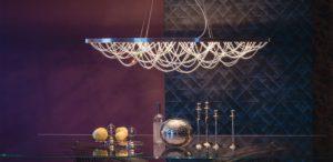 Cattelan Italia Cristal ceiling lamp, pendant, chandelier