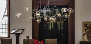 Cattelan Italia Oktopus ceiling lamp, pendant, chandelier