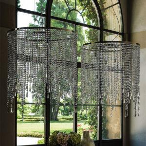 Cattelan Italia Venezia round ceiling lamp, pendant, chandelier